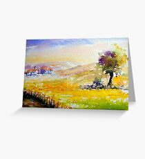 quiet alentejo.. Greeting Card