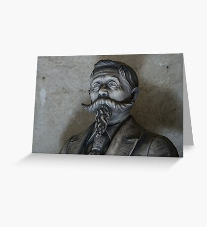 Moustache and Beard Greeting Card