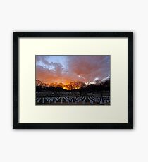 Arlington National Cemetery - Sunset Framed Print