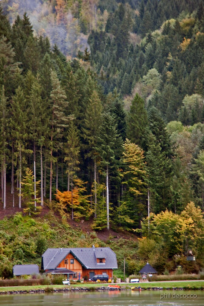 Bavarian Hillside by phil decocco