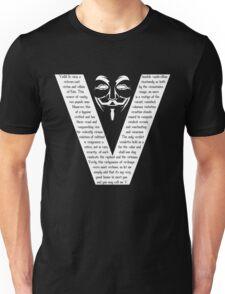 V (white) T-Shirt