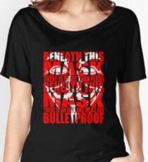 Ideas are bulletproof v.2 Women's Relaxed Fit T-Shirt