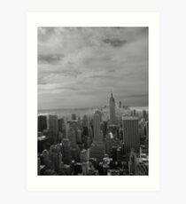 Above the city Art Print
