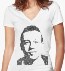 Macklemore Portrait Women's Fitted V-Neck T-Shirt