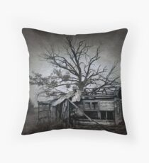 Dead Place Throw Pillow