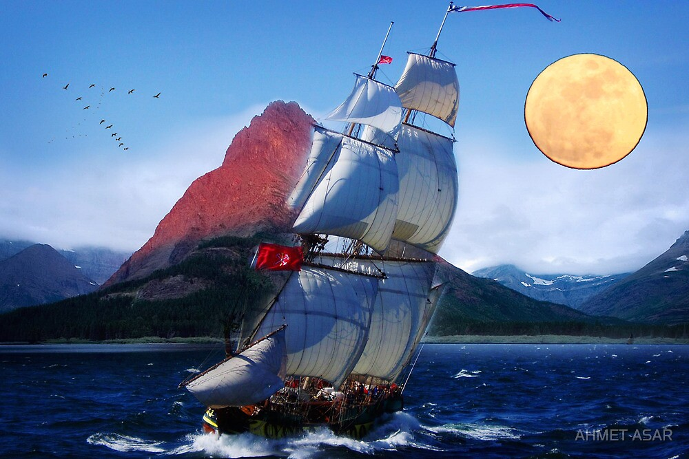 sailing towards high peaks by MotionAge Media