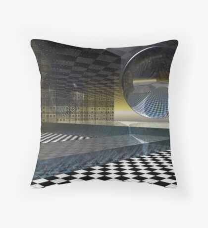 The Boundaries of Our Dreams Throw Pillow