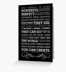 Chuck Palahniuk from Choke Greeting Card