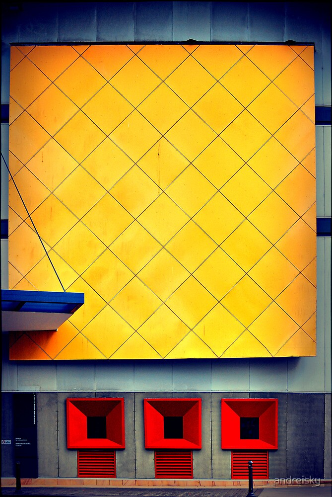 City abstract. Pyrmont by andreisky