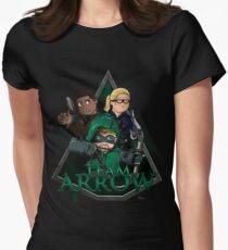 Original Team Arrow #TheOriginalGangstas Womens Fitted T-Shirt