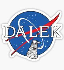 Dalek Space Program Sticker