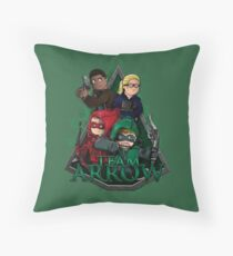 Team Arrow Throw Pillow