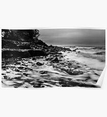 Receding Tide at Ross Creek Nova Scotia Poster