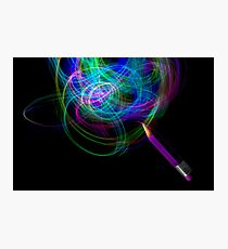Drawing With Light Photographic Print