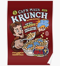 Captain Mal's Krunch Cereal Poster