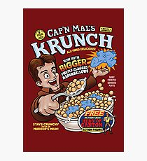 Captain Mal's Krunch Cereal Photographic Print