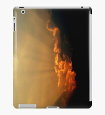 Sunset Rays Over Clouds iPad Case/Skin