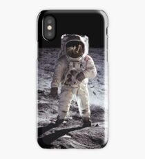 Buzz Aldrin on the Moon NASA iPhone/iPad Space Case iPhone Case/Skin
