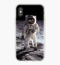 Buzz Aldrin on the Moon NASA iPhone/iPad Space Case iPhone Case