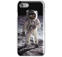 Buzz Aldrin on the Moon NASA iPhone/iPad Space Case iPhone Case/Skin