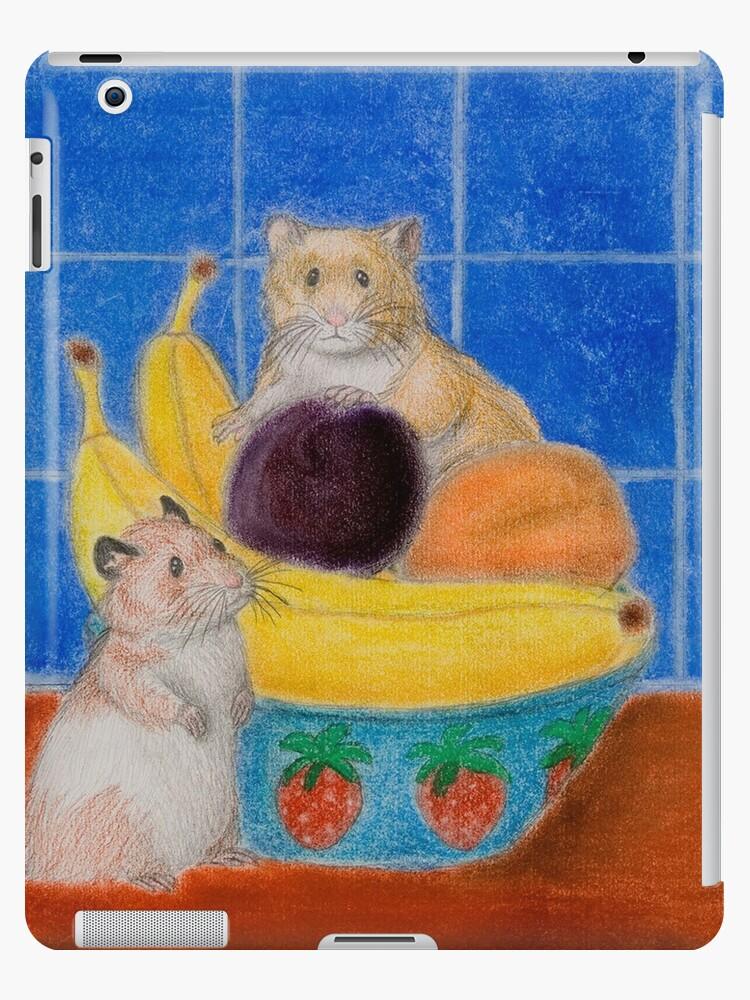 Hamsters In Fruit Bowl by jkartlife