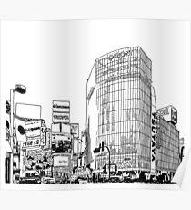 Tokyo - Shibuya Poster