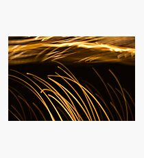 Waves Of Light 2 Photographic Print