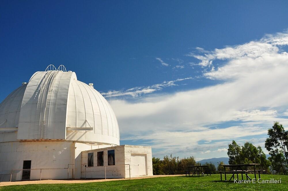 Mt Stromlo Old Observatory by Karen E Camilleri
