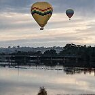 Hot Air Balloons  by Paul Amyes