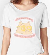 Katzen und Geld Loose Fit T-Shirt