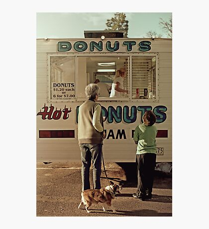 Donuts for Sale Photographic Print