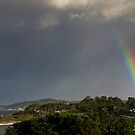 Rainbow Over Carmel by Mike Herdering