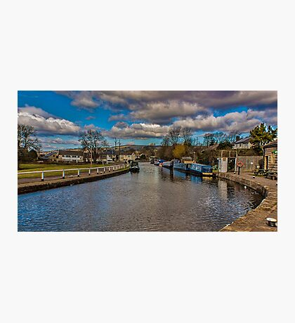 Leeds and Liverpool Canal at Bingley Photographic Print
