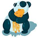Pandas & squids by annarr