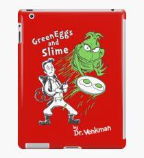 Green Eggs and Slime iPad Case/Skin