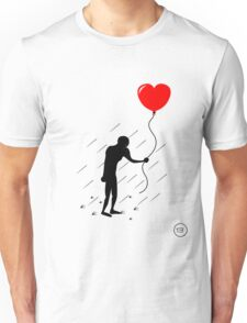 Heart in the Rain Unisex T-Shirt