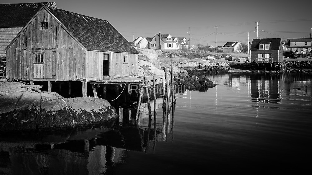 Peggys Cove by Randy Hill