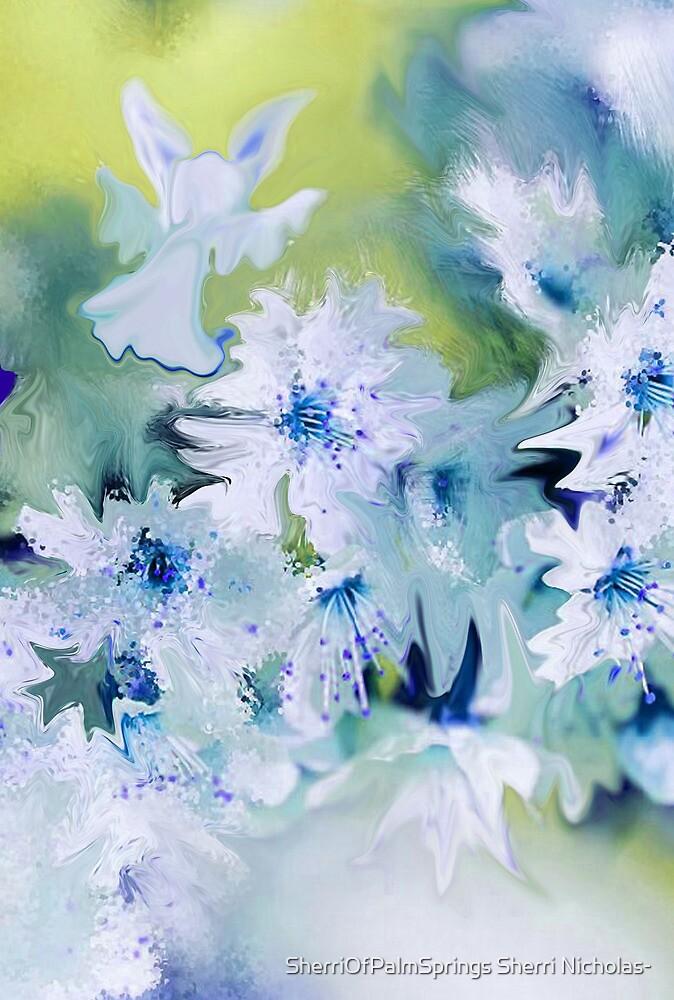 Angel Of Flowers by SherriOfPalmSprings Sherri Nicholas-