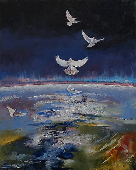 Doves by Michael Creese