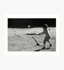 Sandlot T-Ball Art Print