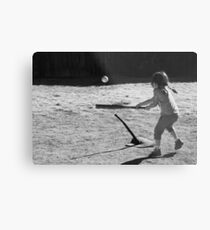 Sandlot T-Ball Metal Print