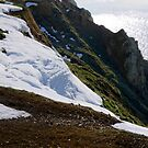Snow Cliffs by mikebov