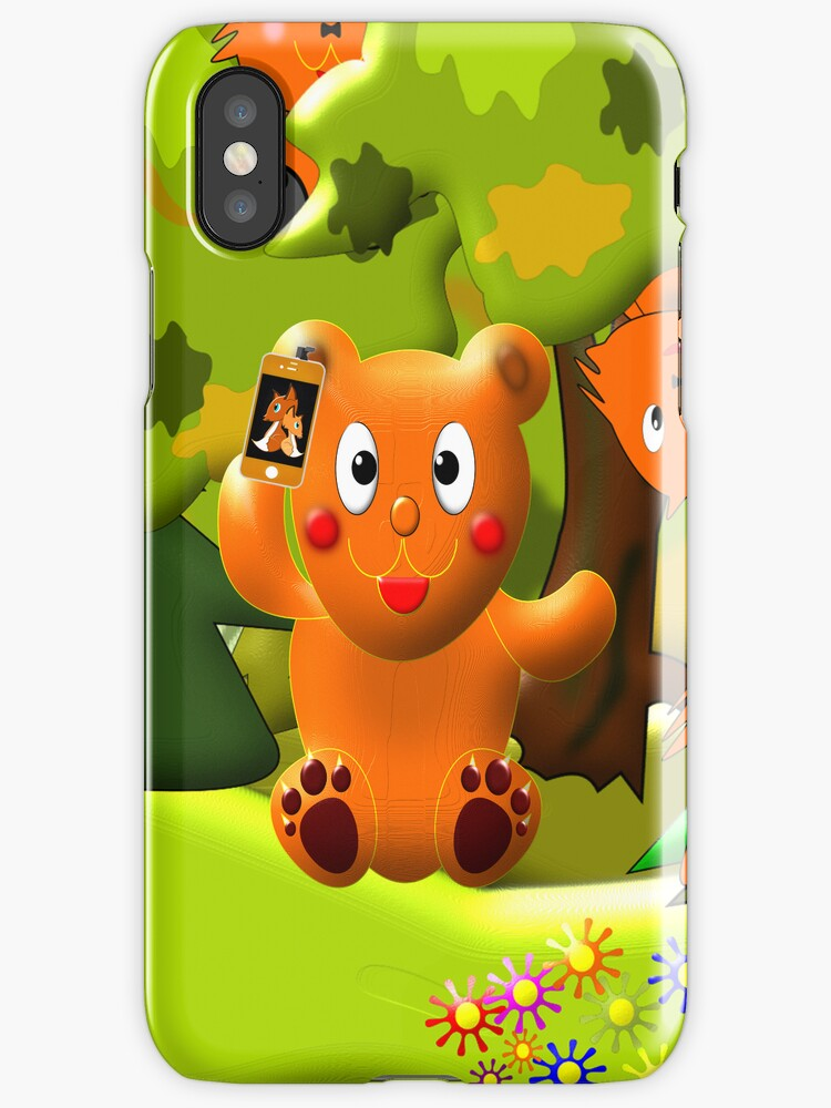 We're Having a Picnic iPhone case by Dennis Melling