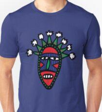 Cartoon Tribal Mask T-Shirt