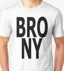 BRONY - (Black Text) T-Shirt