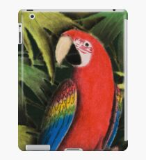 Scarlet Macaw iPad Case/Skin
