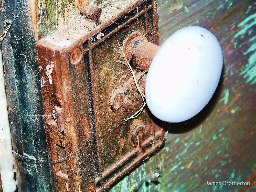 Old Door Knob by James Brotherton