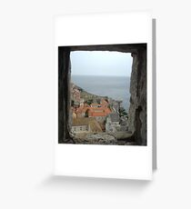Out of the window...until the end of the world Greeting Card