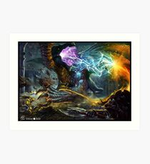 Dungeons & Dragons  Art Print