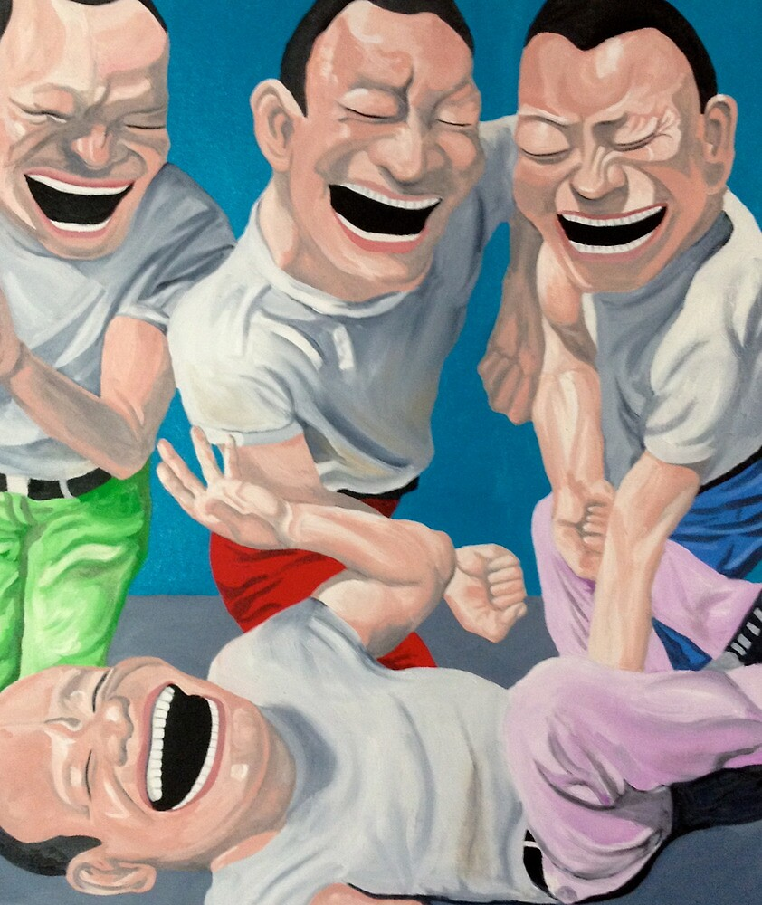 Just Laugh  by MichaelFrewArt